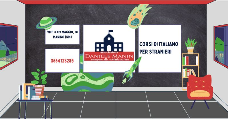 ASSOCIAZIONE DANIELE MANIN - Offerta corsi di italiano per stranieri Frascati