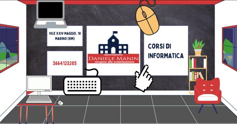 ASSOCIAZIONE DANIELE MANIN - Offerta scuole di informatica ai Castelli Romani