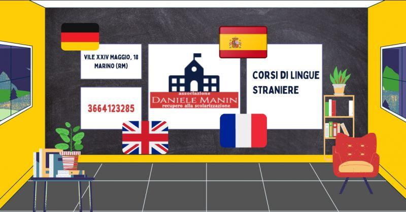ASSOCIAZIONE DANIELE MANIN - Offerta lezioni di lingue straniere Marino