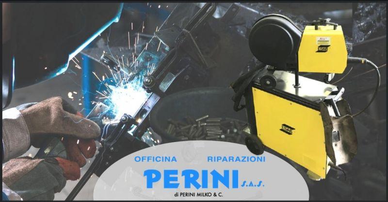 offerta saldature varie in alluminio e acciaio Firenze - OFFICINA PERINI
