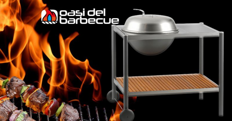 Offerta Barbecue modello Dancook 1502 Thiene - Occasione Barbecue a Carbonella con Carrello in acciaio Vicenza