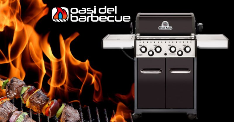 Occasione Barbecue a Gas Marchio Baron 490 Vicenza - Offerta Barbecue a Gas Quattro bruciatori
