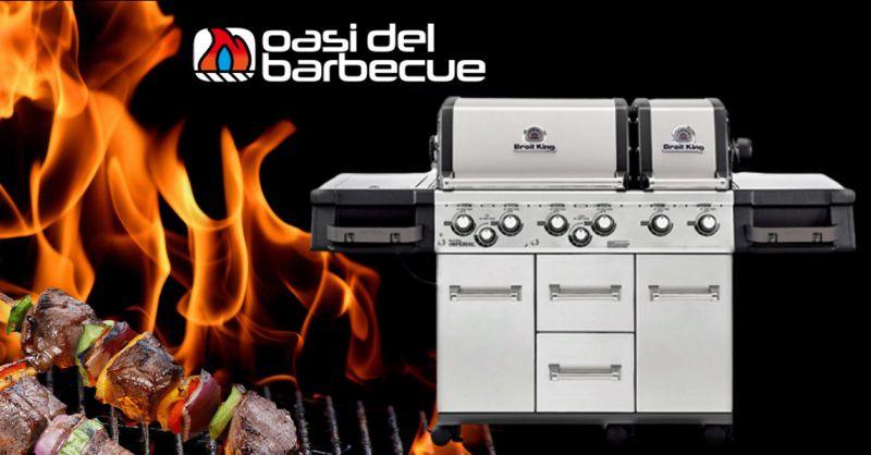 Offerta Barbecue modello Imperial XLS 690 Pro Vicenza - Occasione Barbecue A Gas con sei Bruciatori
