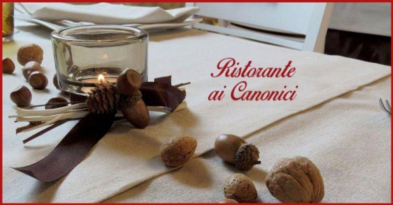 Ristorante Ai Canonici - Trova il miglior ristorante gastronomie specialità tipiche vicentine