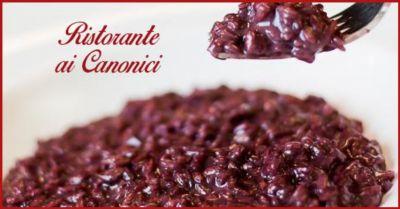 ristorante ai canonici trova dove mangiare migliore risotto allamarone in provincia vicenza