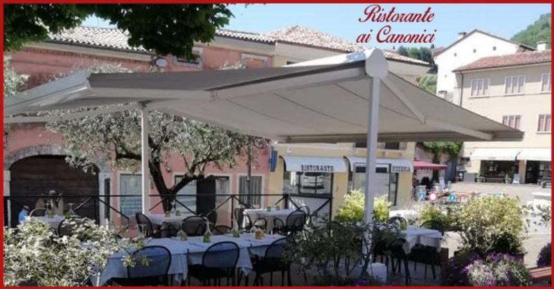 Ristorante AI CANONICI - Ambiente raffinato cucina e piatti del territorio dei Colli Berici
