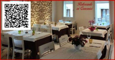 ristorante ai canonici offerta servizo take away ordinazione telefonica e food delivery app