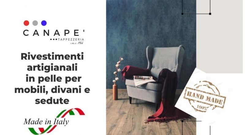 Occasione rivestimento ARTIGIANALE di mobili e complementi d'arredo a Pordenone – Offerta imbottiture per arredamento a Pordenone