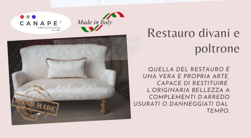 Occasione Restauro divani Restauro sedie Restauro poltrone a Pordenone – Vendita Pulizia divani e poltrone Rifoderatura divani e poltrone a Pordenone