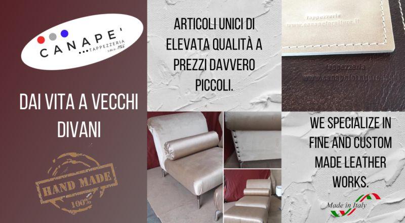 Offerta tappezzieri professionisti a Pordenone – Occasione rivestimenti in pelle fatti a mano artigianalmente a Pordenone