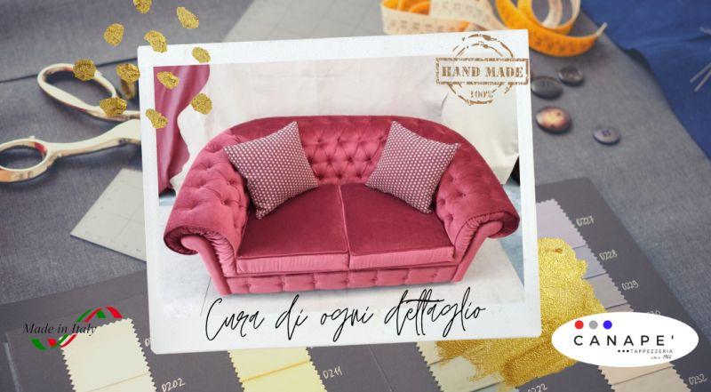 Occasione lavorazione artigianale capitonné di divani e poltrone a Pordenone – Offerta realizzazione di mobili imbottiti, imbottiture per arredamento a Pordenone