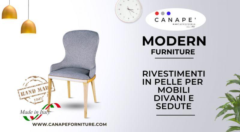 Offerta rivestimenti in pelle di sedie a Pordenone – Occasione rivestimento artigianale di divani a Pordenone