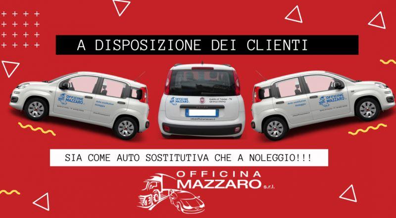 Offerta carrozzeria con auto sostitutiva a Treviso – Occasione officina con servizio auto sostitutiva a Treviso