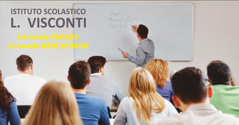 istituto visconti offerta corsi universitari - occasione universita telematica massa carrara