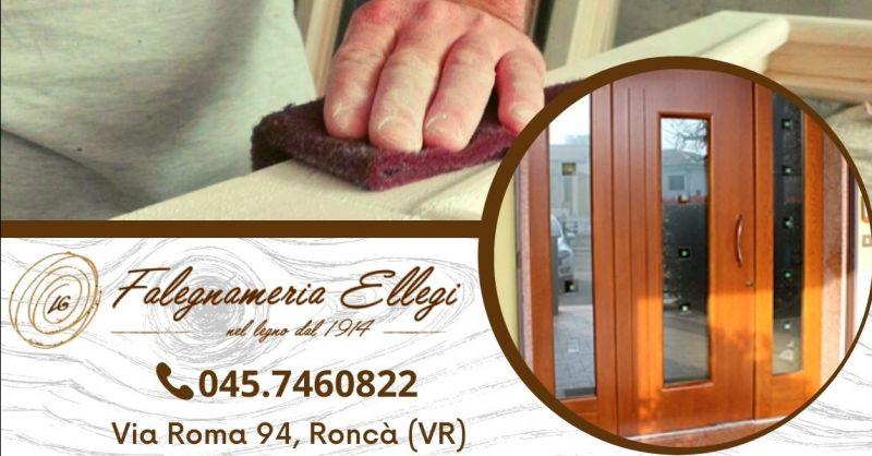 Offerta produzione e vendita portoncini d'ingresso - Occasione produzione porte ingresso in legno Verona provincia