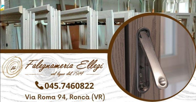 Offerta produzione porte interne in legno - Occasione installazione finestre legno alluminio Verona e provincia