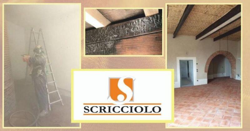 SCRICCIOLO PAOLO – offerta sabbiature civili e industriali Prato