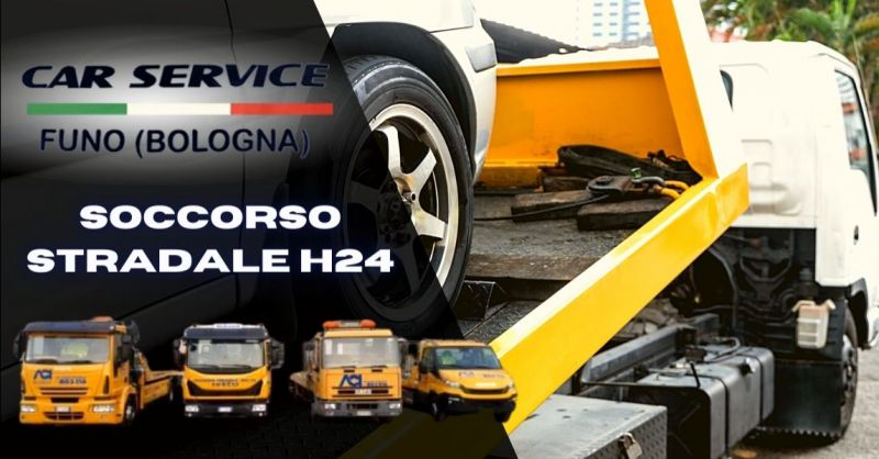 Offerta servizio assistenza soccorso stradale h24 - Occasione pronto intervento carroattrezzi Bologna provincia