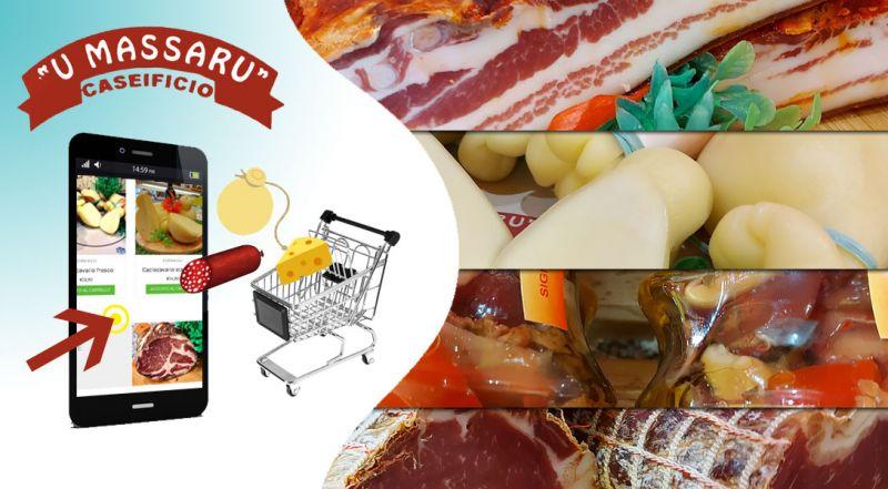 caseificio U Massaru – offerta e-commerce prodotti tipici calabresi - promozione prodotti tipici calabresi online a casa