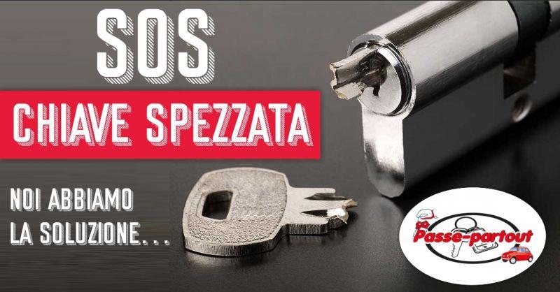 Passe-partout - offerta soluzione chiave spezzata serratura