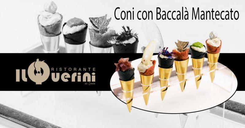 Offerta Dove Mangiare Baccalà ricetta tradizionale Vicenza - Occasione Ristorante Specialità baccalà mantecato