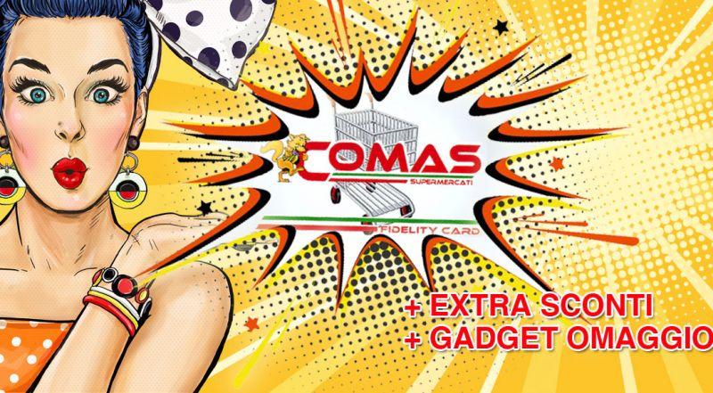 Supermercato Comas - Offerta fidelity card raccolta punti reggio calabria – promozione fidelity card concorsi a premi