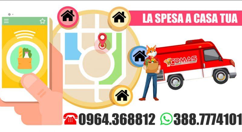 Supermercato Comas - Offerta Supermercato consegna a domicilio spesa – promozione Supermercato spesa a domicilio