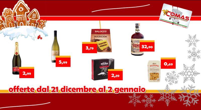 Supermercato Comas – Offerta supermercato offerte natalizie Siderno – promozione supermercato prodotti sottocosto Siderno