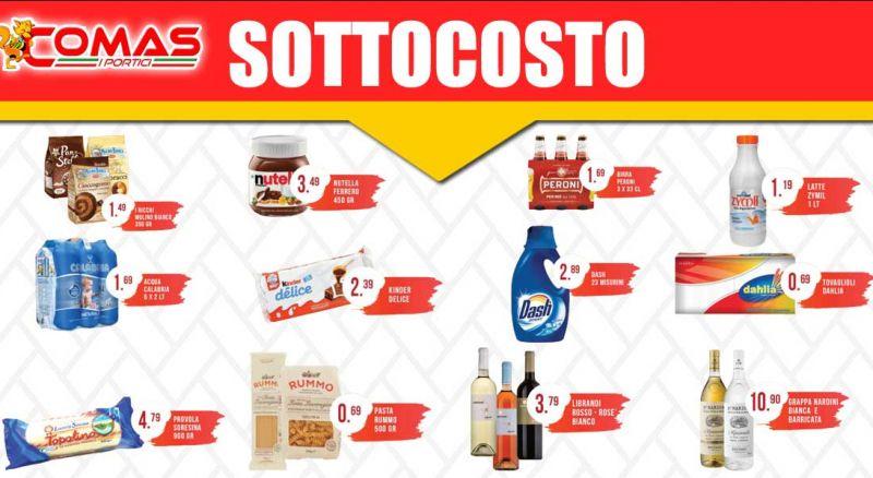 Supermercato Comas - Offerta prodotti sottocosto supermercato Siderno - promozione prodotti sottocosto volantino Siderno