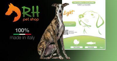 offerta crocchette tacchino e salmone light cani occasione crocchette per cani sensibili o con problemi intestinali