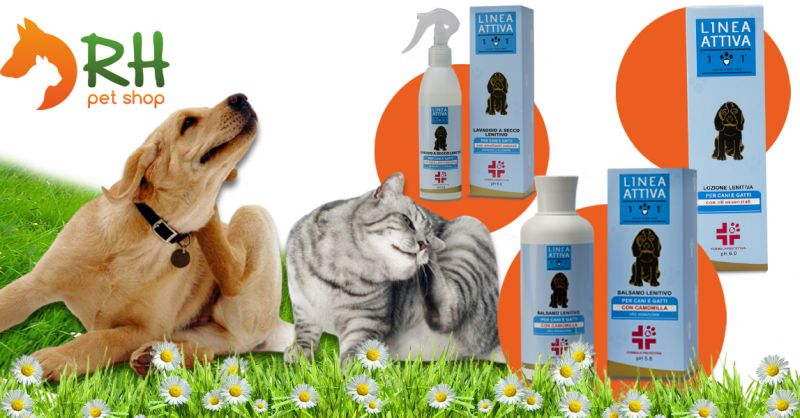 Offerta Shampoo Cani lenitivo ed idratante per dermatite - Occazione lozione lenitiva Dermatite cani