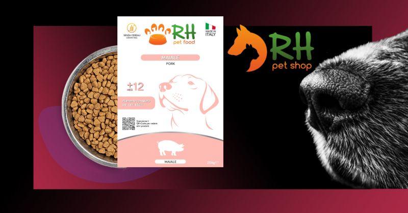 Offerta Alimento completo Grain free monoproteico cani adulti - Occasione Crocchete con ingrediente principale carne maiale