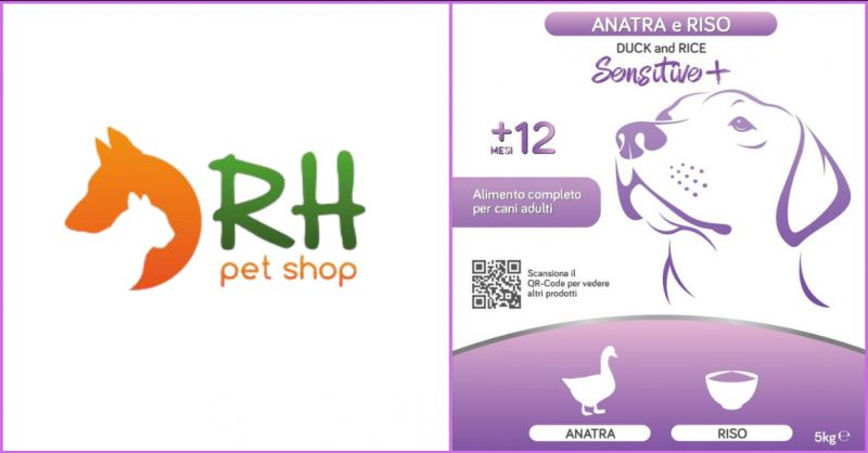 Crocchette per Cani Anatra e Riso