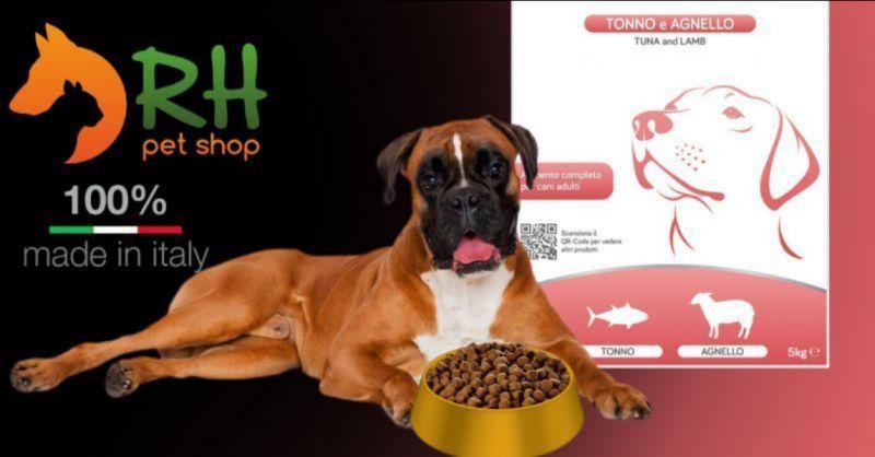Crocchette per cani Tonno e Agnello