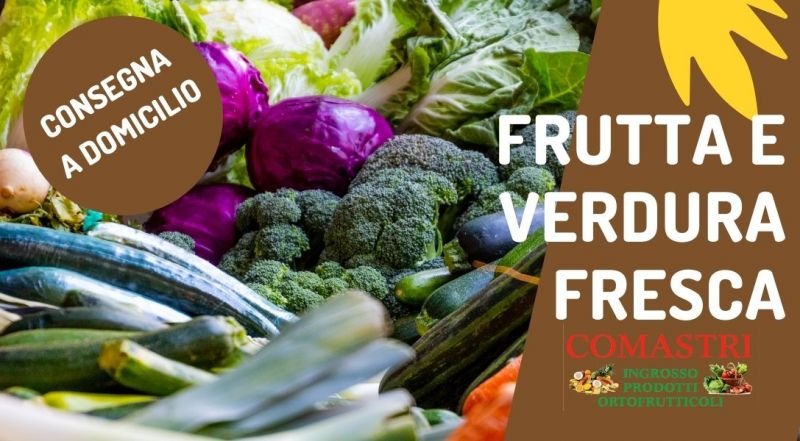 Offerta frutta e verdura fresca e di stagione a Modena – Vendita all'ingrosso e al dettaglio di prodotti ortofrutticoli consegna a domicilio di frutta e verdura a Modena
