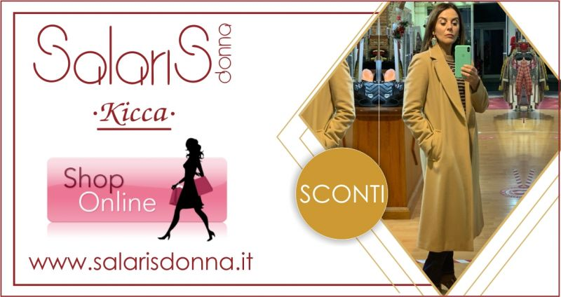 SALARIS DONNA -  offerta Cappotto lungo color cammello LineaEmme Marella