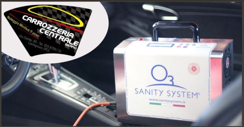 CARROZZERIA CENTRALE - offerta sanificazione auto con l ozono Prato