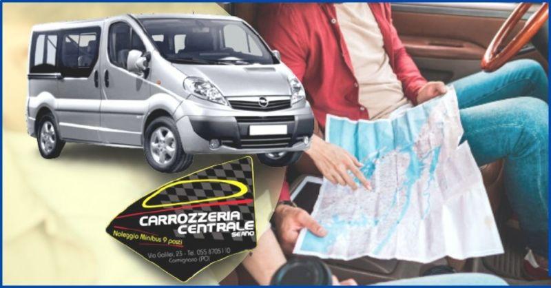offerta noleggio minibus 9 posti per viaggi di lavoro e vacanze - CARROZZERIA CENTRALE