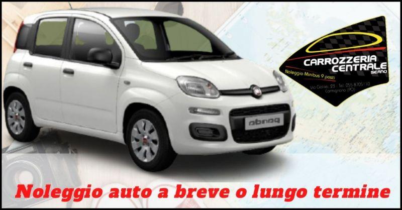 offerta noleggio auto a breve lungo termine Prato e Firenze - CARROZZERIA CENTRALE