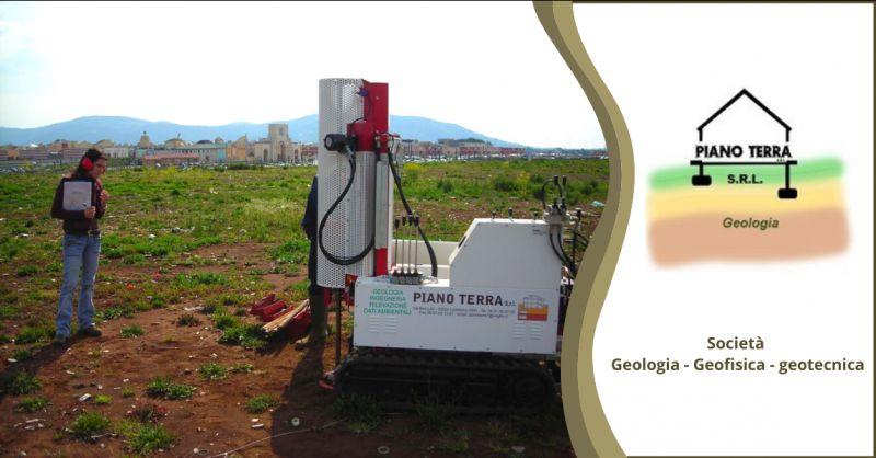 PIANO TERRA SRL offerta societa di geologia - occasione societa di geofisica e geotecnica