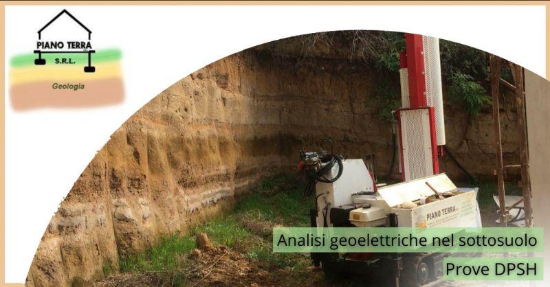 offerta ricerca geoelettrica nel sottosuolo - occasione prove DPSH