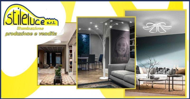 STILELUCE - offerta vendita di apparecchi di illuminazione da interni ed esterni