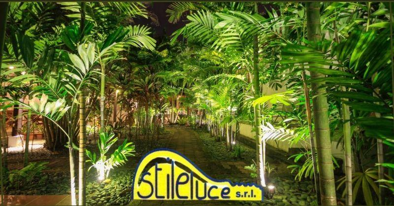 promozione illuminazione piante da giardino Versilia e Lucca - STILELUCE