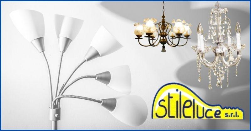 occasione riparazione e restauro corpi illuminati - promozione riparazione lampade e lampadari