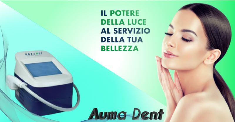 Offerta trattamento macchie viso con luce pulsata Roma - occasione luce pulsata macchie roma