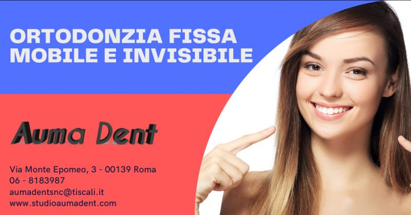 Offerta studio ortodonzia Roma Montesacro - occasione ortodonzia invisibile Invisalign Roma