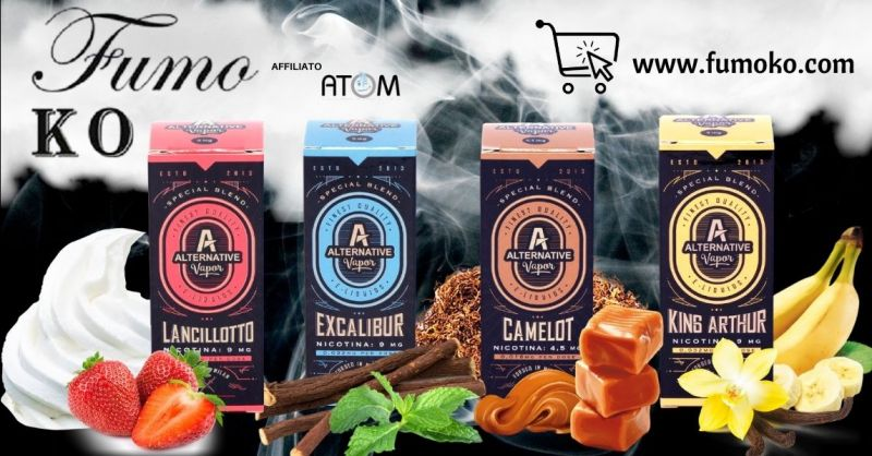 FUMO KO - Offerta Liquidi per sigaretta elettronica marchio Alternative Vapor Verona