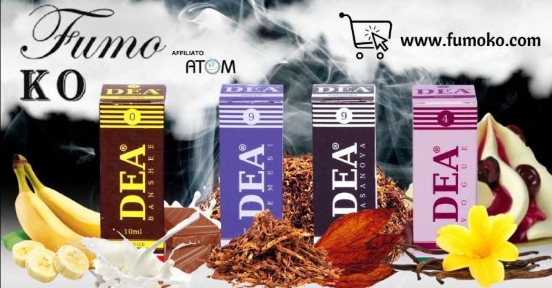 Offerta Shop online liquidi Dea per sigaretta elettronica Vicenza - Occasione acquisto liquidi pronti per sigaretta