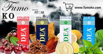 promozione liquidi tabaccosi per sigaretta elettronica marchio dea trento offerta vendita aromi per sigarette