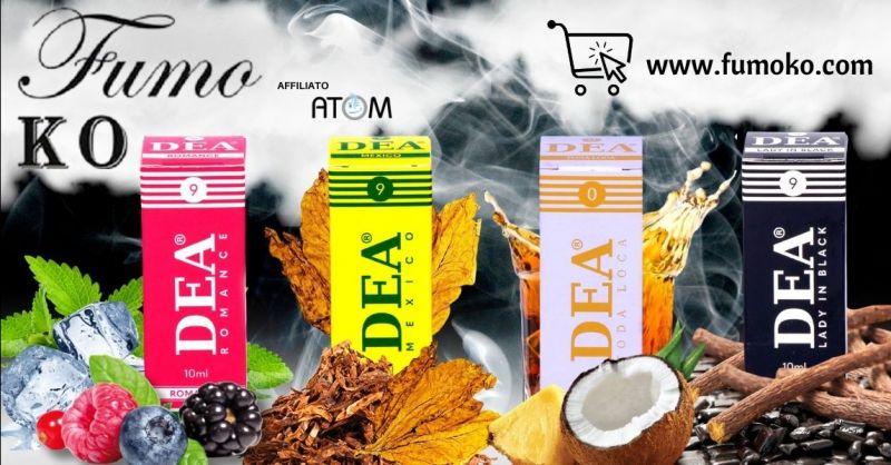 Offerta liquidi pronti DEA per sigaretta elettronica online Treviso - Occasione migliori aromi sigaretta elettronica
